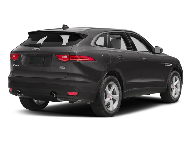 Ammonite Grey Metallic 2017 Jaguar F-PACE Pictures F-PACE 35t Prestige AWD photos rear view