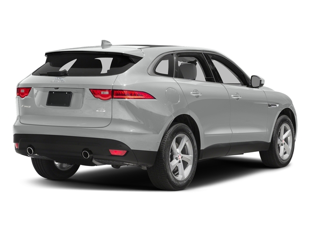 Rhodium Silver Metallic 2017 Jaguar F-PACE Pictures F-PACE 35t Prestige AWD photos rear view
