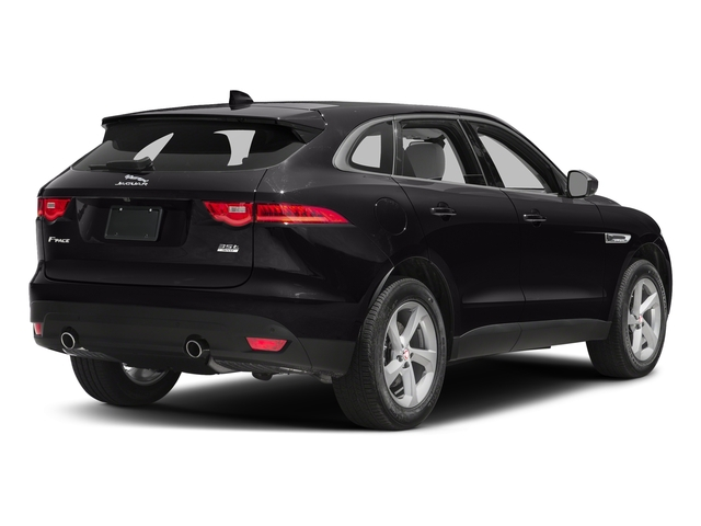 Ultimate Black Metallic 2017 Jaguar F-PACE Pictures F-PACE 35t Prestige AWD photos rear view