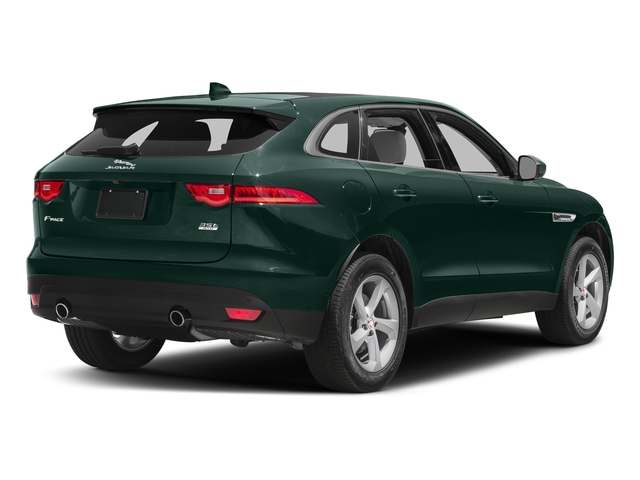 British Racing Green Metallic 2017 Jaguar F-PACE Pictures F-PACE 35t Prestige AWD photos rear view