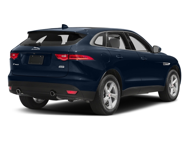 Dark Sapphire Metallic 2017 Jaguar F-PACE Pictures F-PACE 35t Prestige AWD photos rear view
