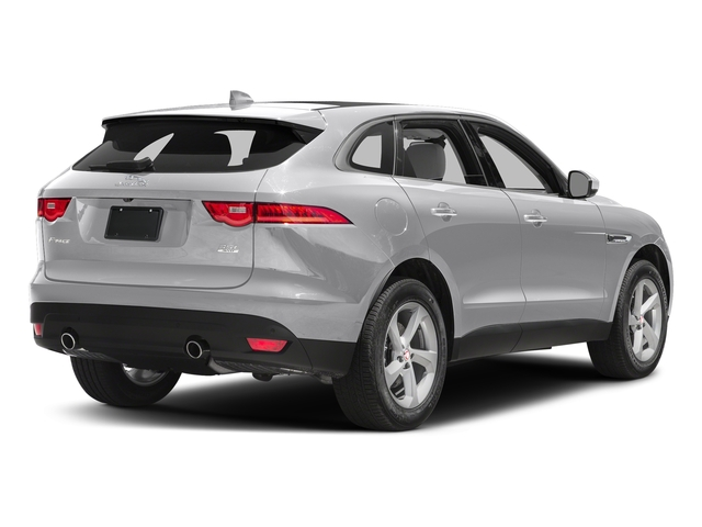 Glacier White Metallic 2017 Jaguar F-PACE Pictures F-PACE 35t Prestige AWD photos rear view