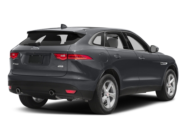 Tempest Grey 2017 Jaguar F-PACE Pictures F-PACE 35t Prestige AWD photos rear view