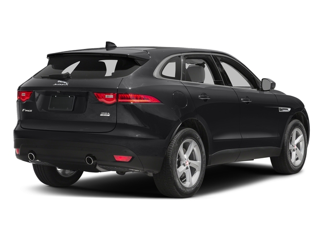 Storm Grey 2017 Jaguar F-PACE Pictures F-PACE 35t Prestige AWD photos rear view
