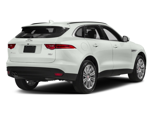 Polaris White 2017 Jaguar F-PACE Pictures F-PACE 20d AWD photos rear view