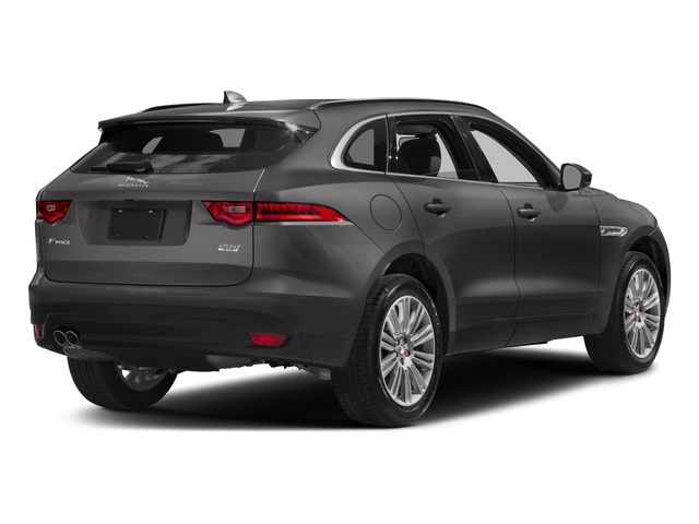 Ammonite Grey Metallic 2017 Jaguar F-PACE Pictures F-PACE 20d Prestige AWD photos rear view