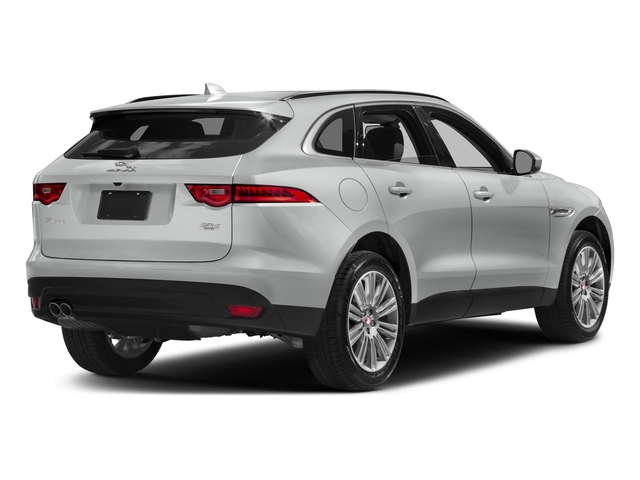Rhodium Silver Metallic 2017 Jaguar F-PACE Pictures F-PACE 20d AWD photos rear view