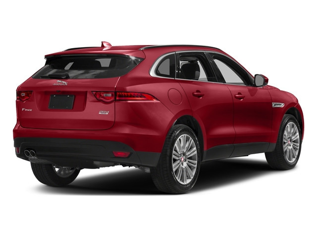 Italian Racing Red Metallic 2017 Jaguar F-PACE Pictures F-PACE 20d Prestige AWD photos rear view