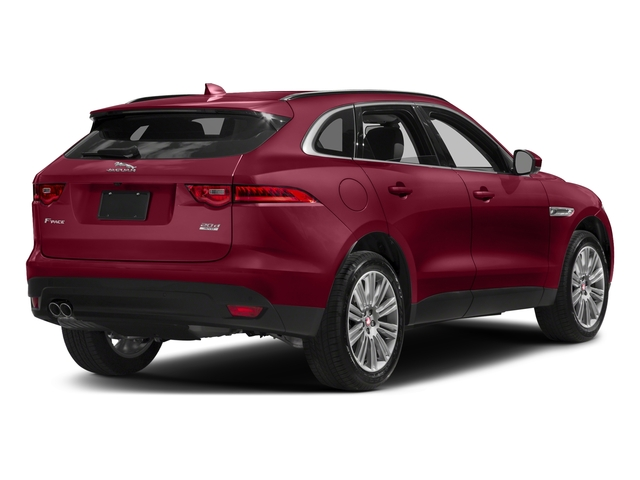 Odyssey Red Metallic 2017 Jaguar F-PACE Pictures F-PACE 20d Prestige AWD photos rear view