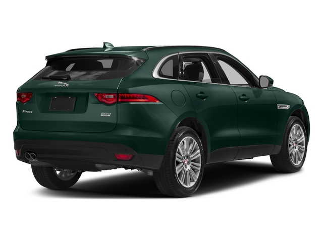British Racing Green Metallic 2017 Jaguar F-PACE Pictures F-PACE 20d Prestige AWD photos rear view