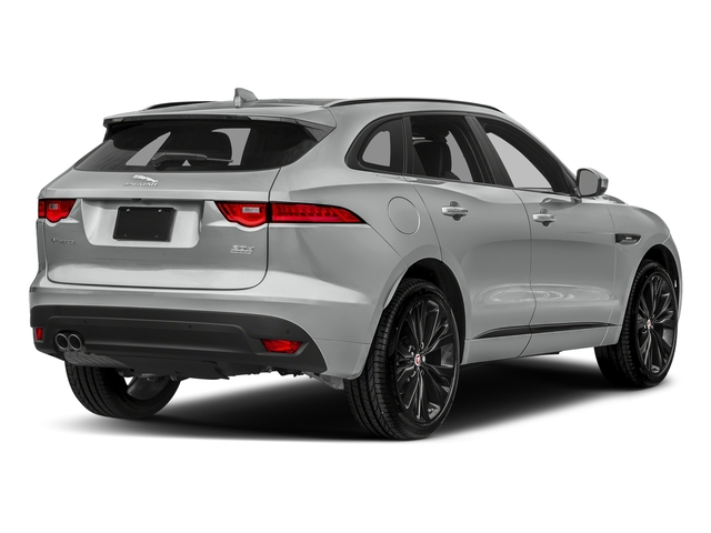 Rhodium Silver Metallic 2017 Jaguar F-PACE Pictures F-PACE 20d R-Sport AWD photos rear view