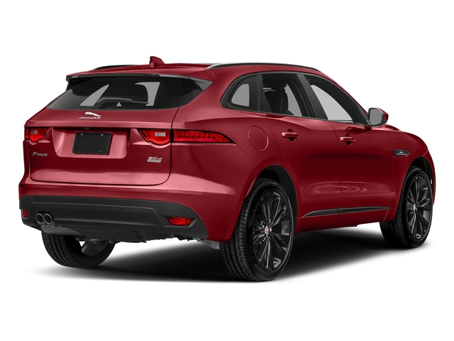 Italian Racing Red Metallic 2017 Jaguar F-PACE Pictures F-PACE Utility 4D 20d R-Sport AWD I4 T-Dsl photos rear view