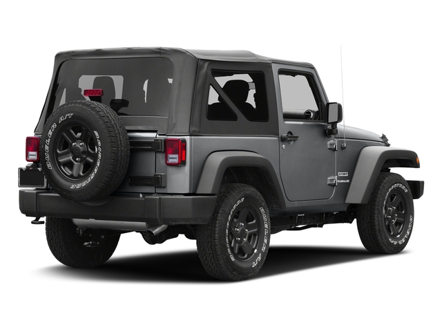 Granite Crystal Metallic Clearcoat 2017 Jeep Wrangler Pictures Wrangler Freedom 4x4 *Ltd Avail* photos rear view