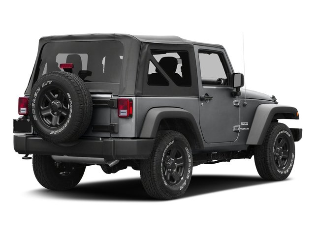Granite Crystal Metallic Clearcoat 2017 Jeep Wrangler Pictures Wrangler Sport 4x4 photos rear view