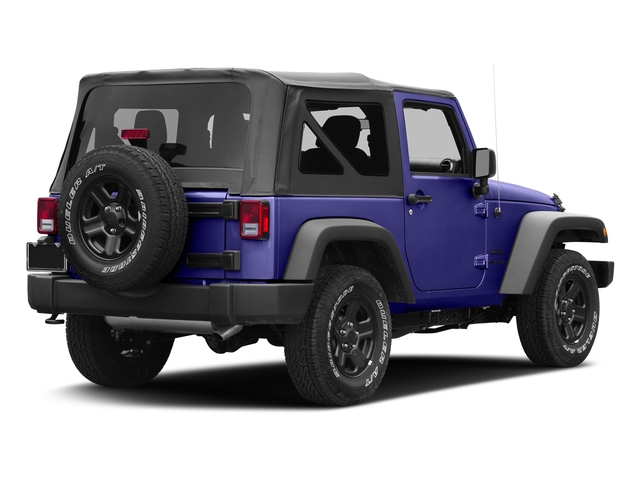 Xtreme Purple Pearlcoat 2017 Jeep Wrangler Pictures Wrangler Sport 4x4 photos rear view