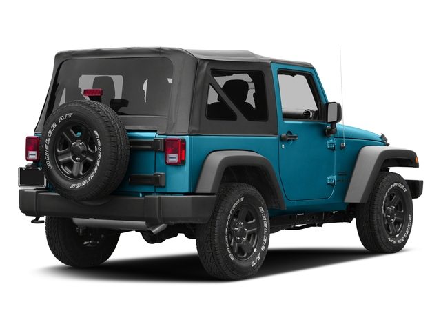 Chief Clearcoat 2017 Jeep Wrangler Pictures Wrangler Sport 4x4 photos rear view