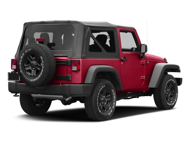 Firecracker Red Clearcoat 2017 Jeep Wrangler Pictures Wrangler Freedom 4x4 *Ltd Avail* photos rear view