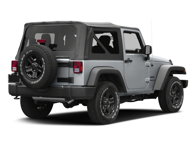 Billet Silver Metallic Clearcoat 2017 Jeep Wrangler Pictures Wrangler Freedom 4x4 *Ltd Avail* photos rear view