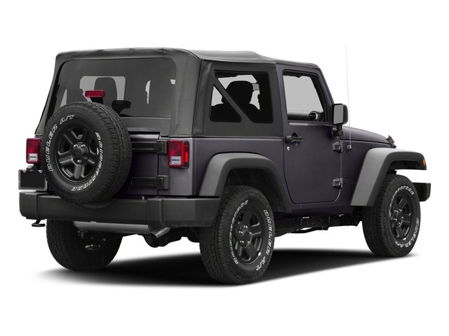 Rhino Clearcoat 2017 Jeep Wrangler Pictures Wrangler Sport 4x4 photos rear view