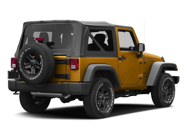 Gobi Clearcoat 2017 Jeep Wrangler Pictures Wrangler Freedom 4x4 *Ltd Avail* photos rear view
