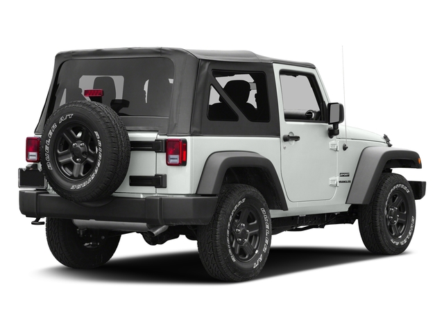 Bright White Clearcoat 2017 Jeep Wrangler Pictures Wrangler Freedom 4x4 *Ltd Avail* photos rear view