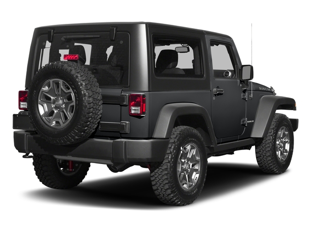 Granite Crystal Metallic Clearcoat 2017 Jeep Wrangler Pictures Wrangler Rubicon 4x4 photos rear view