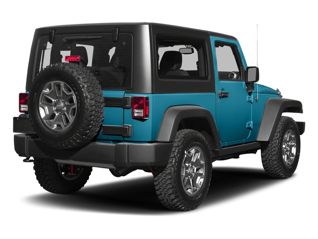 Chief Clearcoat 2017 Jeep Wrangler Pictures Wrangler Rubicon 4x4 photos rear view