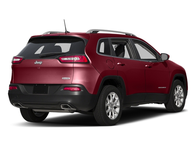 Deep Cherry Red Crystal Pearlcoat 2017 Jeep Cherokee Pictures Cherokee Utility 4D Latitude 2WD photos rear view