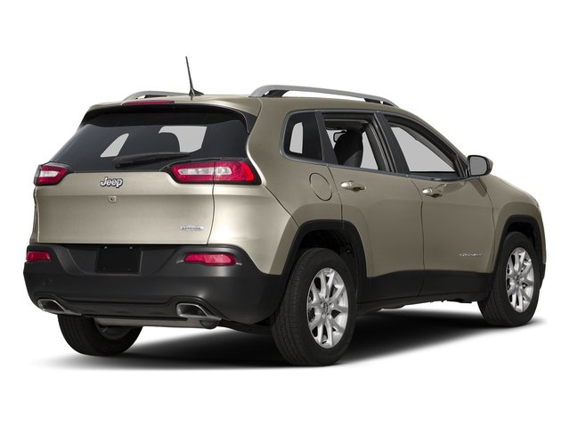 Light Brownstone Pearlcoat 2017 Jeep Cherokee Pictures Cherokee Utility 4D Latitude 4WD photos rear view