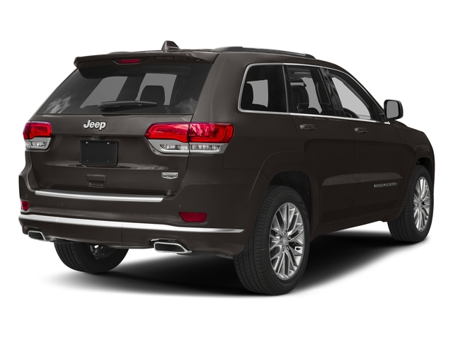 Walnut Brown Metallic Clearcoat 2017 Jeep Grand Cherokee Pictures Grand Cherokee Summit 4x2 photos rear view
