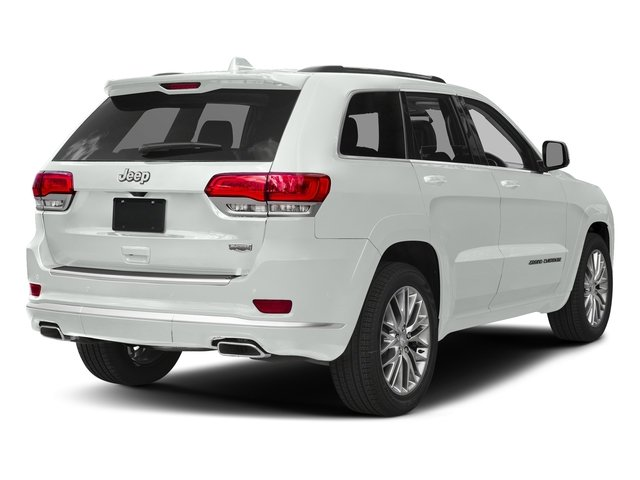 Bright White Clearcoat 2017 Jeep Grand Cherokee Pictures Grand Cherokee Summit 4x2 photos rear view
