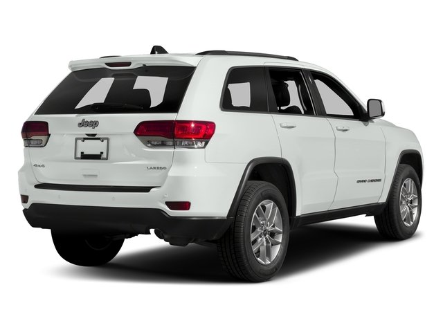 Bright White Clearcoat 2017 Jeep Grand Cherokee Pictures Grand Cherokee Utility 4D Laredo 4WD photos rear view
