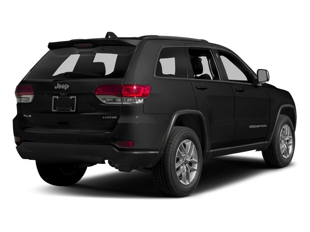 Diamond Black Crystal Pearlcoat 2017 Jeep Grand Cherokee Pictures Grand Cherokee Utility 4D Laredo 4WD photos rear view