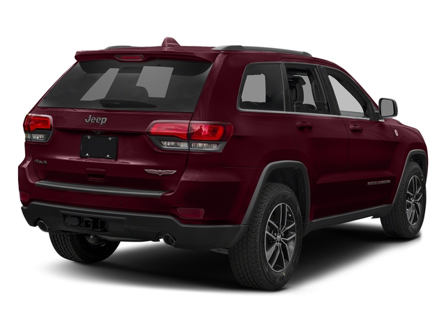 Velvet Red Pearlcoat 2017 Jeep Grand Cherokee Pictures Grand Cherokee Utility 4D Trailhawk 4WD photos rear view