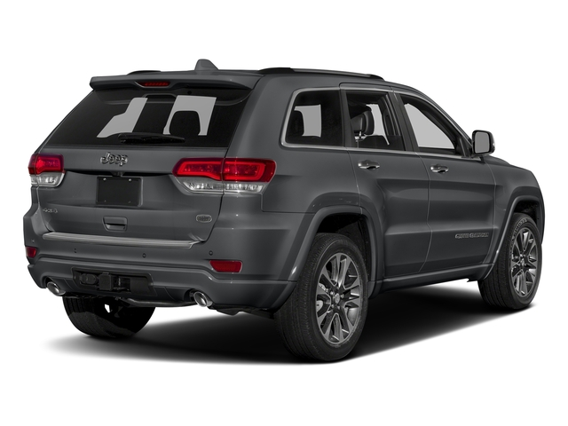 Granite Crystal Metallic Clearcoat 2017 Jeep Grand Cherokee Pictures Grand Cherokee Utility 4D Overland 4WD T-Dsl photos rear view