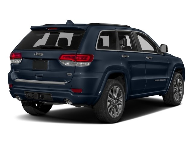 True Blue Pearlcoat 2017 Jeep Grand Cherokee Pictures Grand Cherokee Utility 4D Overland 4WD T-Dsl photos rear view