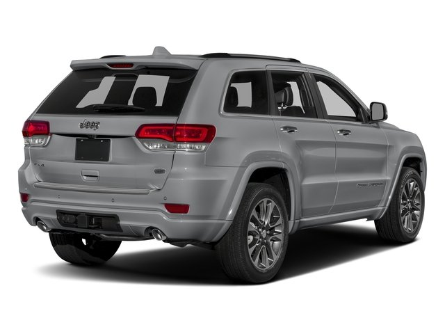Billet Silver Metallic Clearcoat 2017 Jeep Grand Cherokee Pictures Grand Cherokee Utility 4D Overland 4WD T-Dsl photos rear view