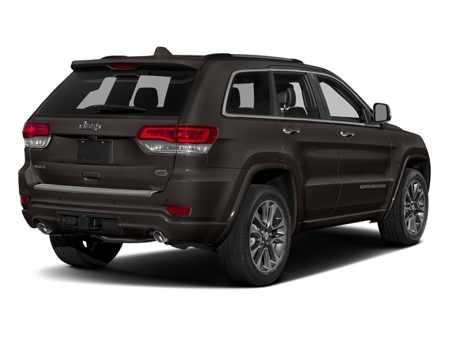 Walnut Brown Metallic Clearcoat 2017 Jeep Grand Cherokee Pictures Grand Cherokee Utility 4D Overland 4WD T-Dsl photos rear view
