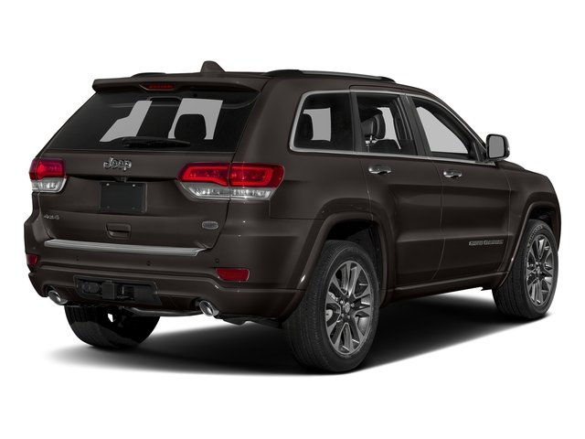 Walnut Brown Metallic Clearcoat 2017 Jeep Grand Cherokee Pictures Grand Cherokee Utility 4D Overland 2WD photos rear view
