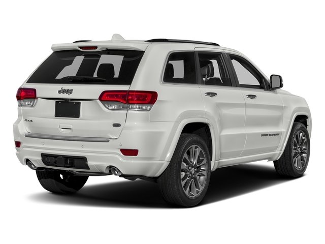 Ivory 3-Coat 2017 Jeep Grand Cherokee Pictures Grand Cherokee Utility 4D Overland 2WD photos rear view