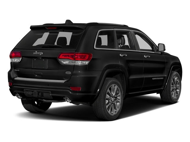 Diamond Black Crystal Pearlcoat 2017 Jeep Grand Cherokee Pictures Grand Cherokee Utility 4D Overland 2WD photos rear view