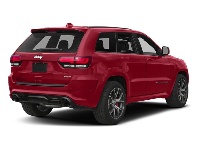 Redline 2 Coat Pearl 2017 Jeep Grand Cherokee Pictures Grand Cherokee SRT 4x4 photos rear view