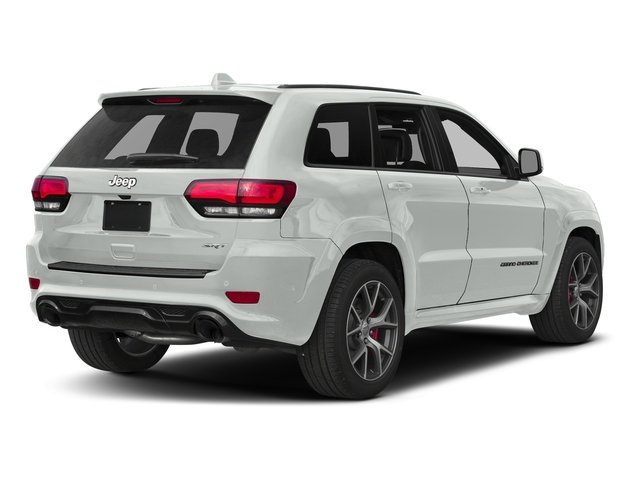 Bright White Clearcoat 2017 Jeep Grand Cherokee Pictures Grand Cherokee SRT 4x4 photos rear view