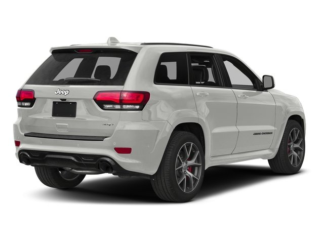 Ivory 3-Coat 2017 Jeep Grand Cherokee Pictures Grand Cherokee SRT 4x4 photos rear view