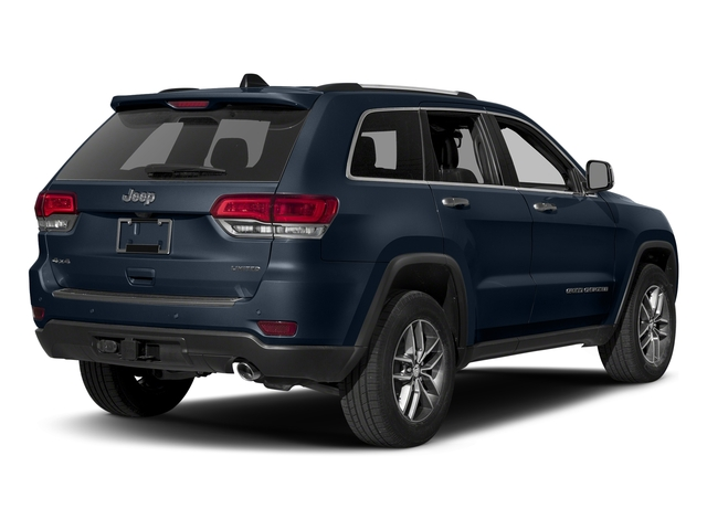 True Blue Pearlcoat 2017 Jeep Grand Cherokee Pictures Grand Cherokee Utility 4D Limited 2WD T-Dsl photos rear view
