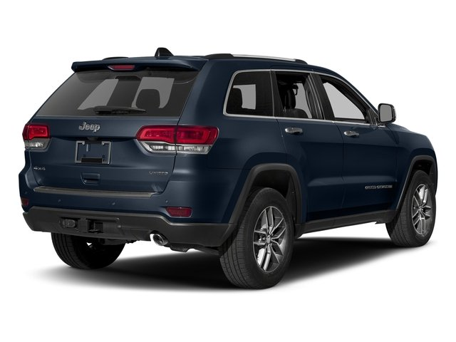 True Blue Pearlcoat 2017 Jeep Grand Cherokee Pictures Grand Cherokee Utility 4D Limited 4WD T-Dsl photos rear view