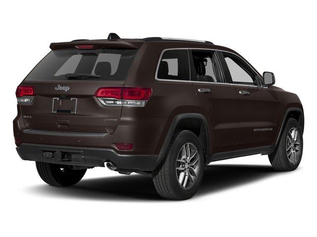 Luxury Brown Pearlcoat 2017 Jeep Grand Cherokee Pictures Grand Cherokee Utility 4D Limited 4WD T-Dsl photos rear view