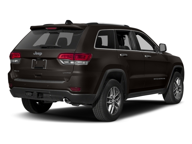 Walnut Brown Metallic Clearcoat 2017 Jeep Grand Cherokee Pictures Grand Cherokee Utility 4D Limited 2WD T-Dsl photos rear view
