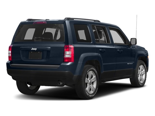 True Blue Pearlcoat 2017 Jeep Patriot Pictures Patriot Utility 4D Sport 4WD I4 photos rear view