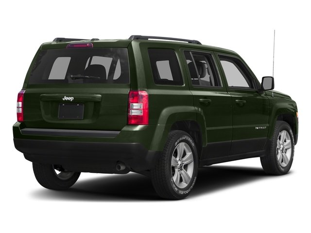 Recon Green Clearcoat 2017 Jeep Patriot Pictures Patriot Utility 4D Sport 4WD I4 photos rear view